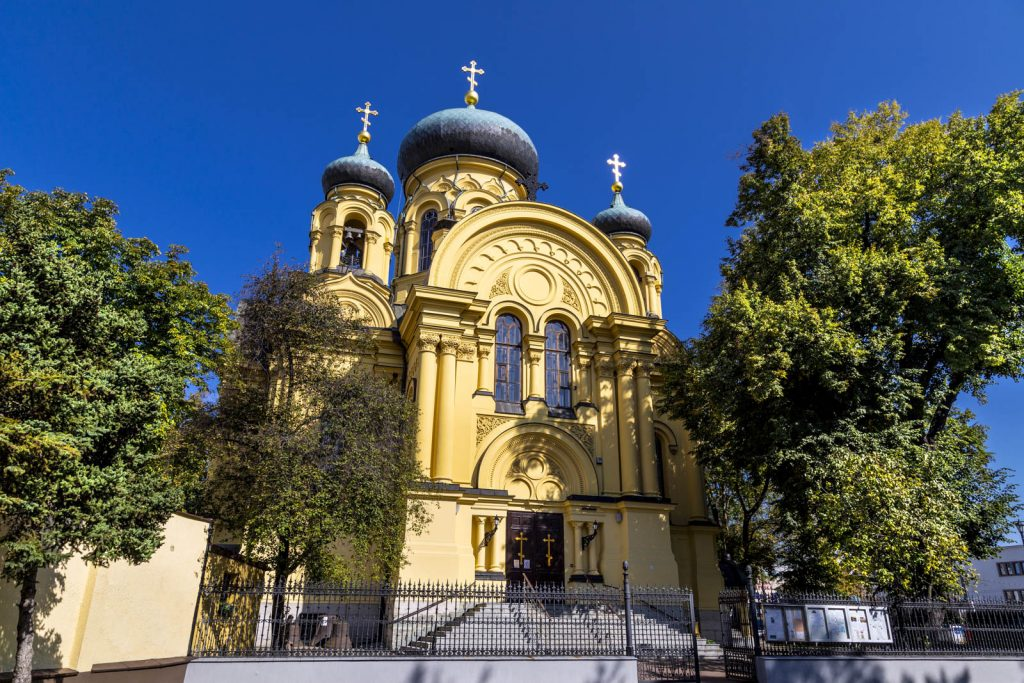 Cathedral of Saint Mary Magdalene in Praga District, Warsaw, Poland