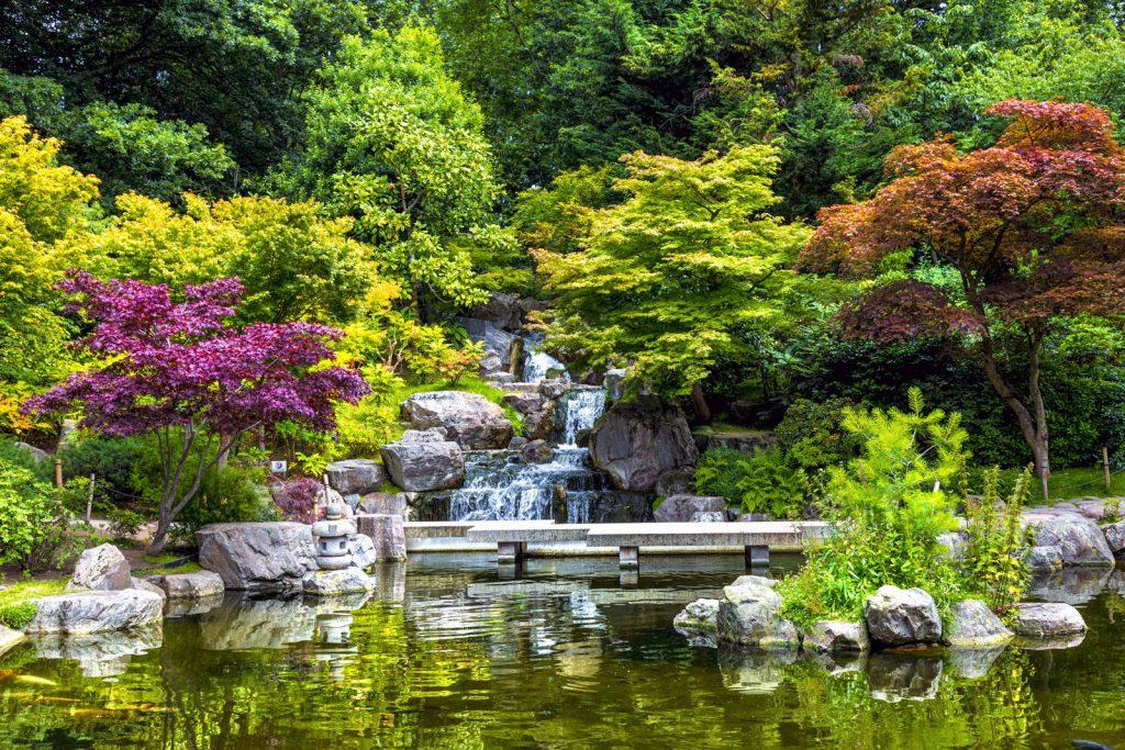 Kyoto Garden, Holland Park, London, UK