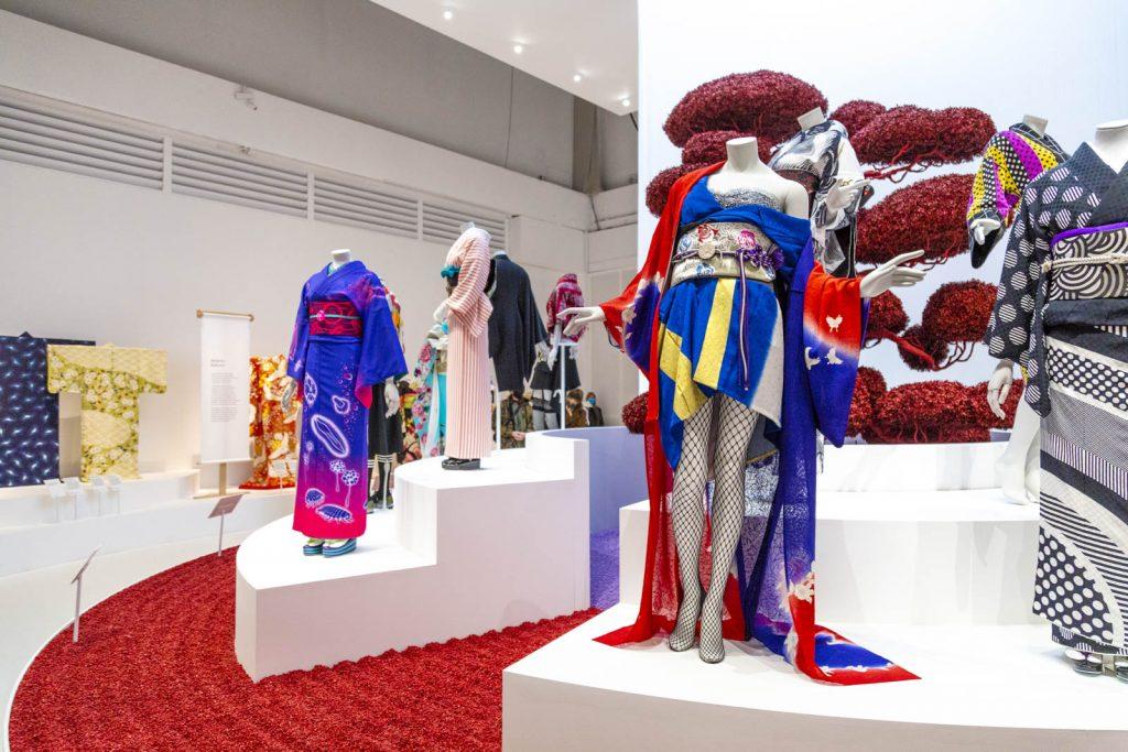 Kimono: Kyoto to Catwalk exhibition at the Victoria & Albert Museum, London, UK