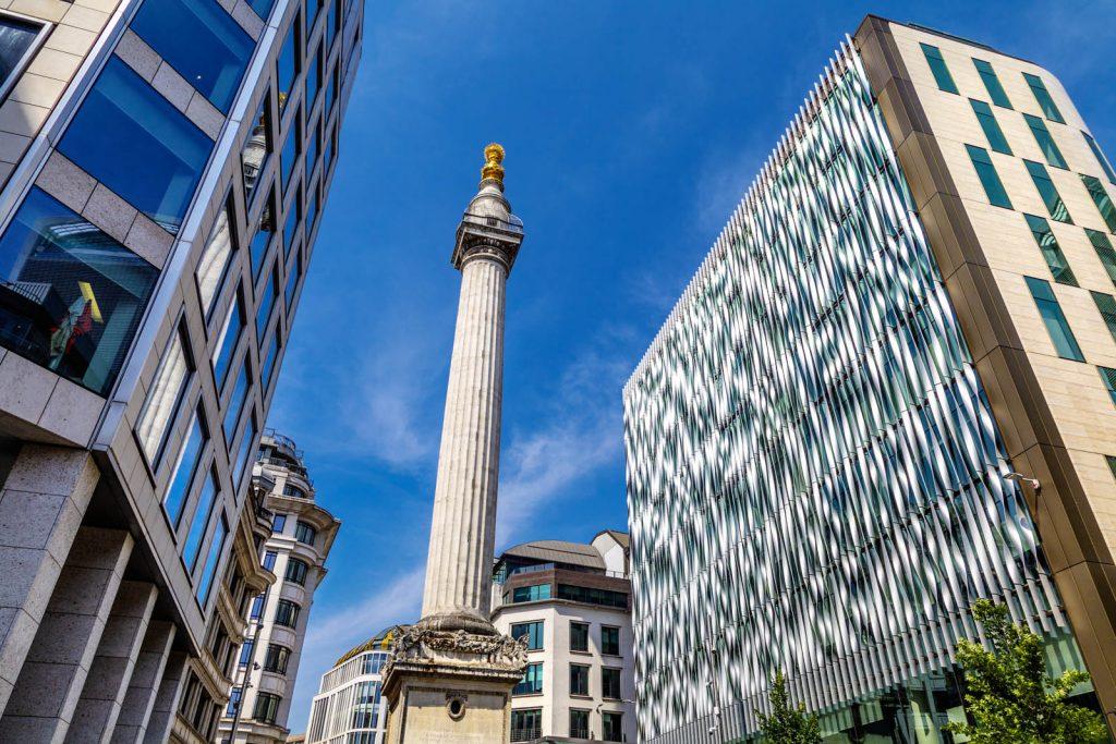 Monument, London, UK