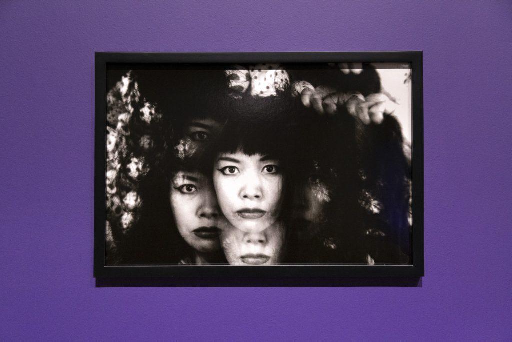Portrait at Yayoi Kusama: Infinity Mirror Rooms exhibition 2021 at the Tate Modern, London, UK